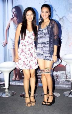 Hritu Dudani and Swara Bhaskar at Machhli Jal Ki Raani Hai Trailor Launch and Press Conference
