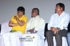 Ilaiyaraja and Vivek at Porkalathil Oru Poo Movie Audio Launch