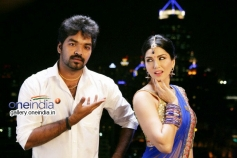 Jai and Sunny Leone in Vadacurry