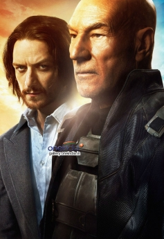 James McAvoy and Patrick Stewart in X Men Days of Future Past