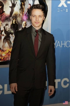 James Mcavoy at X Men Days of Future Past Premiere Show