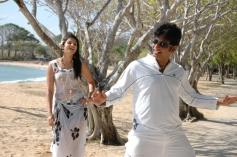 Jeeva and Actress Anuya Bhagvath still from Rangam Modalaindi