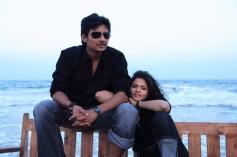 Jeeva and Anuya Bhagvath in Rangam Modalaindi Movie