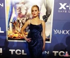 Jennifer Lawrence at X Men Days of Future Past Premiere Show