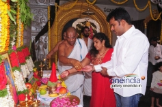Kalyan Ram's Sher Movie Opening Images
