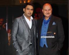Kapil Sharma at Anupam Kher's Kuch Bhi Ho Sakta Show Picture