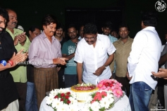 KS Ravikumar celebrates his birthday with Rajinikanth