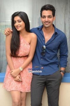 Harshvardhan Rane and Avanthika at Maaya Movie First Look Launch