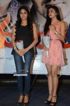 Sushma Raj and Avanthika at Maaya Movie First Look Launch