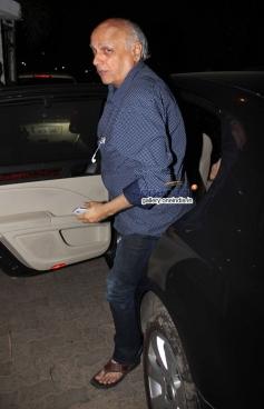 Mahesh Bhatt at Citylights Special Screening