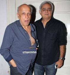 Mahesh Bhatt and Hansal Mehta at Citylights Special Screening