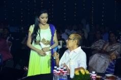 Suma and Ramanaidu at Manam Movie Audio Celebrations