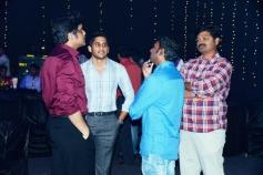 Nagarjuna and Naga Chaitanya at Manam Movie Audio Celebrations