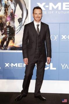 Michael Fassbender at X Men Days of Future Past Premiere Show