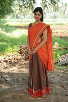 Monal Gajjar still from Vanavarayan Vallavarayan