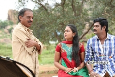 Mridula Vijay and TS Vasan in Jennifer Karuppaiya Picture