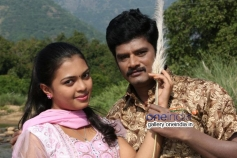 Mridula Vijay and TS Vasan in Jennifer Karuppaiya Pictures