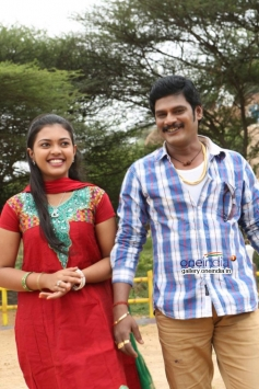 Mridula Vijay and TS Vasan in Jennifer Karuppaiya