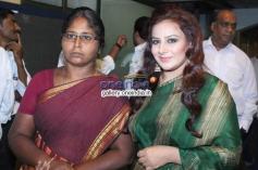 Muttu Lakshmi & Pooja Gandhi at Muttu Lakshmi Film Pressmeet