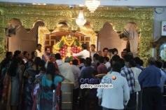 Nagarjuna family visited Sai Baba Temple