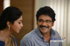 Nagarjuna pics from Telugu Movie Manam