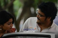 Nagarjuna and Shriya Saran in Manam Movie