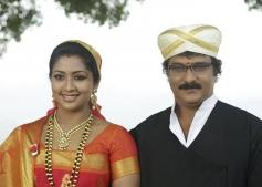 Navya Nair and Ravichandran in Kannada Movie Drishya