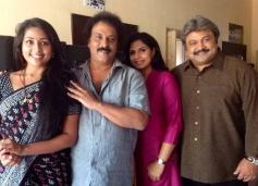 Navya Nair, Ravichandran, Prabhu in Kannada Movie Drishya