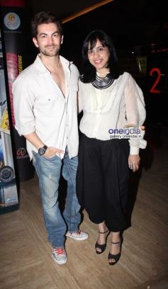 Neil Nitin Mukesh at Purani Jeans film screening