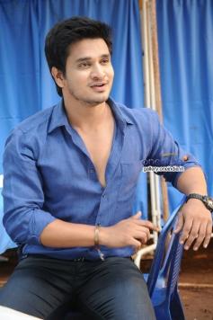 Nikhil Pics from Karthikeya Movie