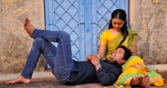 Niranjan and Nithya Shetty pics from Aivarattam