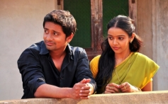 Niranjan and Nithya Shetty stills from Aivarattam