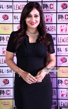 Pakhi Hegde at Leader film first look launch