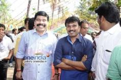 Powerstar Srinivasan at Irayaan Movie Launch