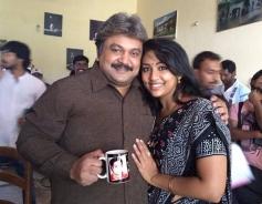 Prabhu, Navya Nair in Kannada Movie Drishya