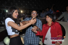 Priyanka Chopra along with her brother Siddharth Chopra and mother Madhu Chopra