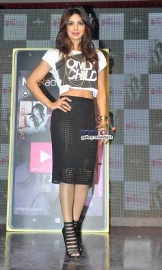 Priyanka Chopra at her album I Can't Make You Love Me launch