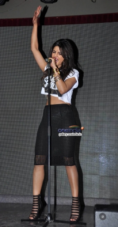 Priyanka Chopra performs at her album I Can't Make You Love Me launch
