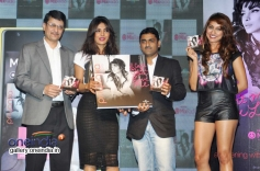 Priyanka Chopra with others during the launch of her album I Can't Make You Love Me