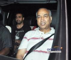 Raj Kundra at Tiger Sharoff's Heropanti Premiere Show