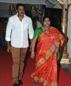 Sunil at Raja Ravindra Daughter Wedding Photos