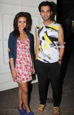 Rajkummar Rao and Patralekha at Citylights Special Screening
