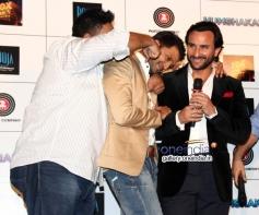 Ram Kapoor, Riteish Deshmukh and Saif Ali Khan at Press Conference of Humshakals at PVR Andheri