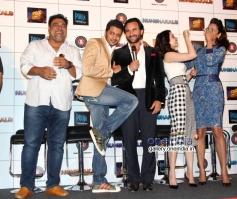 Ram Kapoor, Riteish Deshmukh, Saif Ali Khan, Tamanna Bhatia and Esha Gupta at Press Conference