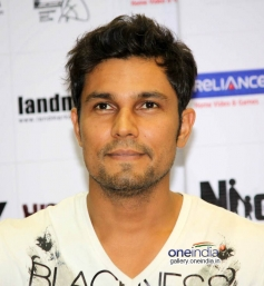 Randeep Hooda at DVD Launch of Highway