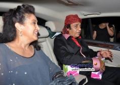 Ranjit with Wife Tiger Sharoff's Heropanti Premiere Show