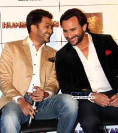 Riteish Deshmukh and Saif Ali Khan at Press Conference of Humshakals at PVR Andheri