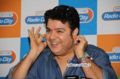 Sajid Khan at Humshakals Music Premier at Radio City Office