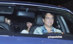 Sajid Nadiadwala at Tiger Sharoff's Heropanti Premiere Show
