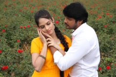 Sanjay and Sanyathara Images from Meimaranthen Movie